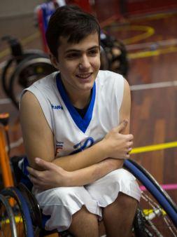 Basket in carrozzina Brescia